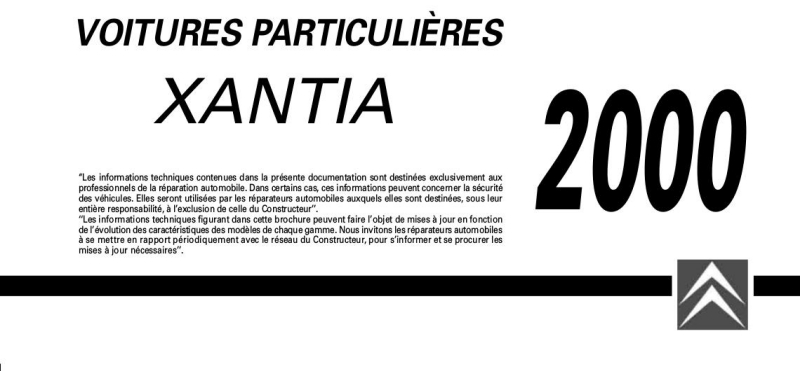 Carnet de poche - 2000