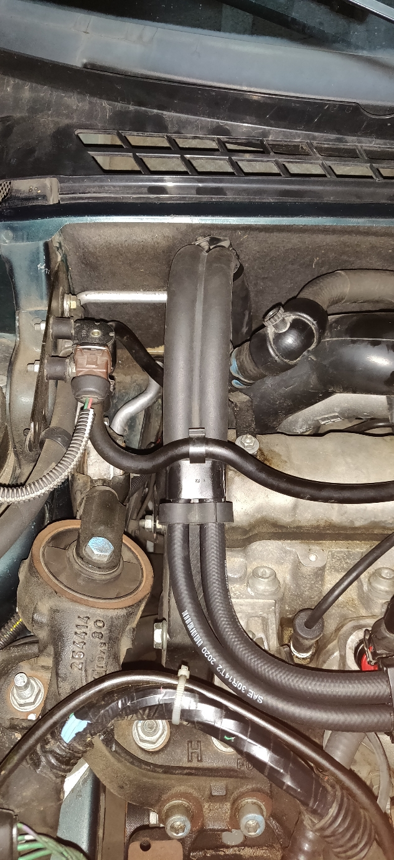 Durites compartiment moteur