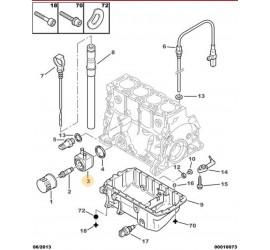 Echangeur eau/huile moteur...
